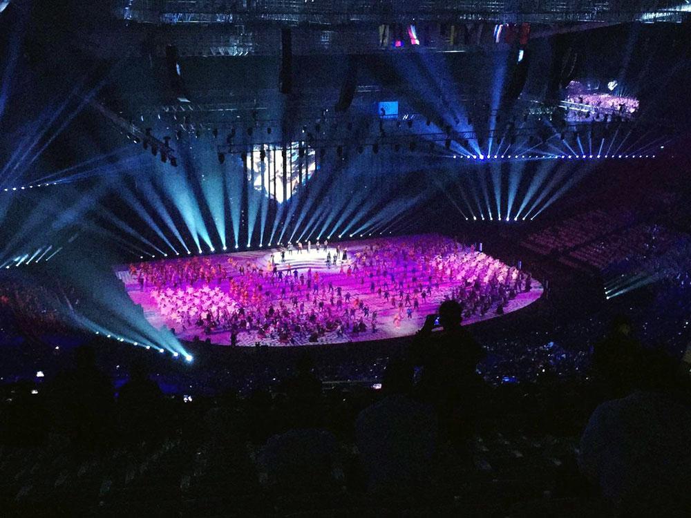 Церемония открытия 30-х Игр Юго-Восточной Азии 2019 была наполнена приборами Claypaky