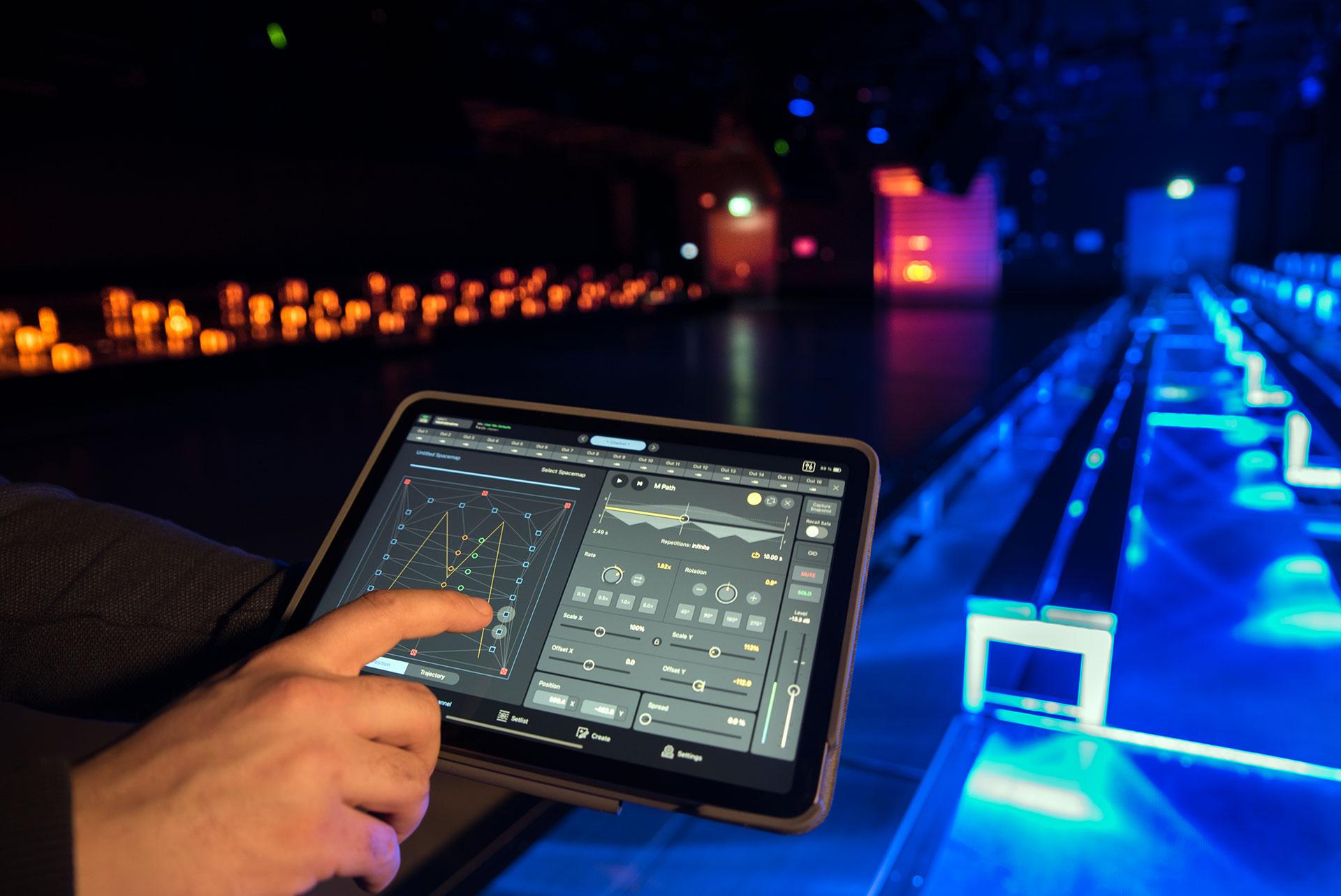 Meyer Sound Spacemap Go открывает новые звуковые измерения в центре Audi Brand Experience