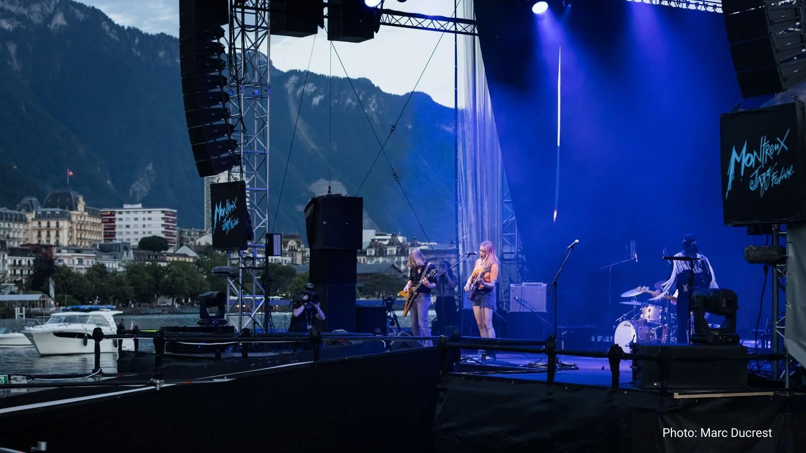 Meyer Sound возвращается в Монтрё, чтобы поддержать новый формат известного джазового фестиваля